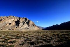 Montagna Himalaya di scena Immagini Stock