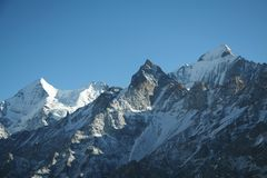 Montagna Himalayan Immagine Stock