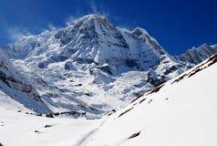 Montagna himalayana Fotografia Stock Libera da Diritti