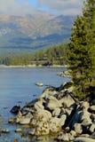 Montagna il lago Tahoe Fotografia Stock