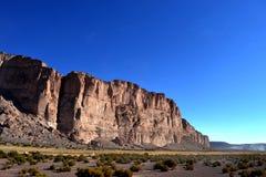 Montagna impressionante in Bolivia Immagine Stock Libera da Diritti