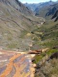 Montagna innevata in Colombia fotografie stock libere da diritti