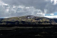 Montagna in Islanda Fotografie Stock Libere da Diritti