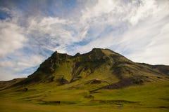 Montagna in Islanda Fotografia Stock