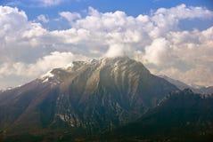 Montagna italiana Fotografie Stock