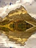 Montagna italiana delle alpi Immagine Stock Libera da Diritti