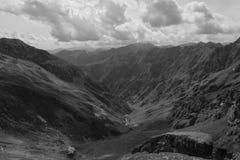 Montagna italiana delle alpi di Valsesia Fotografie Stock