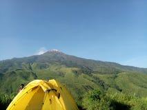 Montagna Jawa Timur di Pundak Immagine Stock Libera da Diritti