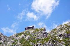 Montagna Kanin nelle alpi di Julian Fotografie Stock Libere da Diritti