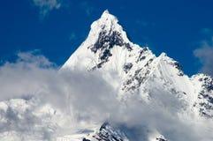 Montagna Kawadgarbo della neve Fotografia Stock