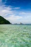 Montagna Krabi di viaggio in Tailandia Fotografia Stock