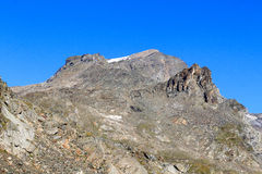 Montagna Kristallwand, alpi di Hohe Tauern, Austria Immagini Stock Libere da Diritti