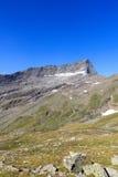 Montagna Kristallwand, alpi di Hohe Tauern, Austria Fotografie Stock
