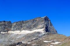 Montagna Kristallwand, alpi di Hohe Tauern, Austria Fotografia Stock