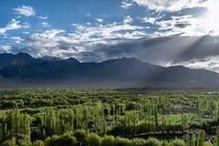 Montagna in Leh Ladakh fotografie stock libere da diritti