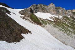 Montagna 2504m di Hochtor in alpi austriache Fotografia Stock