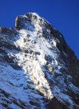 Montagna 3970m in primavera, Berner Oberland di Eiger Fotografia Stock