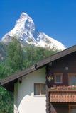 Montagna Matterhorn Fotografie Stock Libere da Diritti