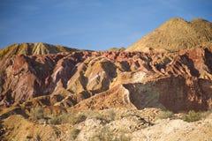 Montagna minerale Immagine Stock