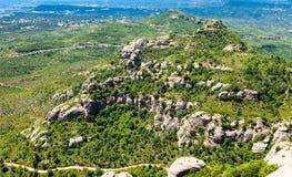Montagna Montserrat Fotografie Stock Libere da Diritti