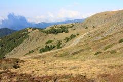 Montagna nei Pyrenees Fotografia Stock