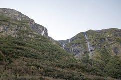 Montagna nel sud della Norvegia Immagine Stock