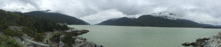 Montagna nell'Alaska Fotografia Stock Libera da Diritti