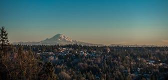 Montagna nell'inverno 3 Fotografia Stock