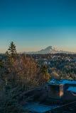 Montagna nell'inverno 4 Fotografia Stock