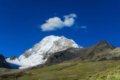 Montagna nelle Ande Immagini Stock Libere da Diritti