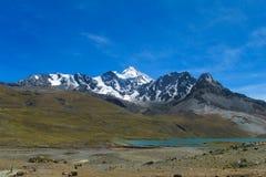 Montagna nelle Ande Immagini Stock