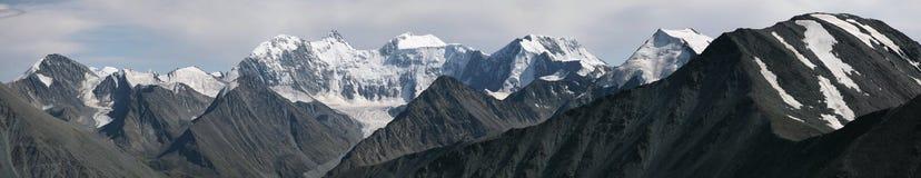 Montagna nelle montagne di Altai, Russia di Belukha Immagini Stock