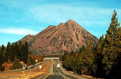Montagna nera del Butte Immagini Stock