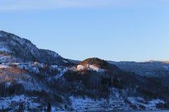 Montagna norvegese 007 Fotografie Stock Libere da Diritti