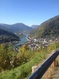 Montagna in Norvegia Fotografia Stock