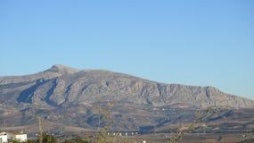 Montagna nuda in Andalusia Fotografia Stock