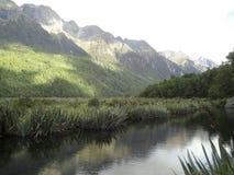 Montagna in Nuova Zelanda Immagine Stock