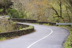 Montagna O Courel a Lugo, Galizia Spagna Fotografie Stock Libere da Diritti