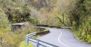 Montagna O Courel a Lugo, Galizia Spagna Fotografia Stock