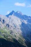 Montagna più alta in Polonia Fotografia Stock