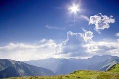 Montagna piena di sole - Tatra. La Polonia. Immagine Stock Libera da Diritti