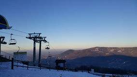 Montagna polacca immagine stock