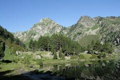 Montagna in Pyrenees Fotografie Stock Libere da Diritti