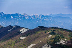 Montagna Ridge Fotografia Stock Libera da Diritti