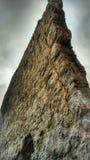 montagna, roccia, scogliera, vela, mare, montagne, oceano, natura, immagini stock