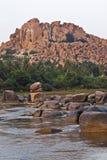 Montagna rocciosa Immagini Stock Libere da Diritti