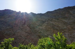 Montagna rocciosa Immagini Stock