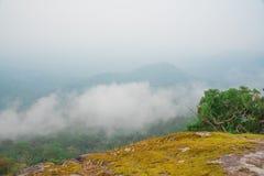 Montagna rocciosa Fotografie Stock