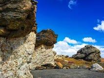 Montagna rocciosa Fotografia Stock Libera da Diritti