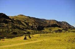 Montagna rocciosa alta Fotografia Stock Libera da Diritti